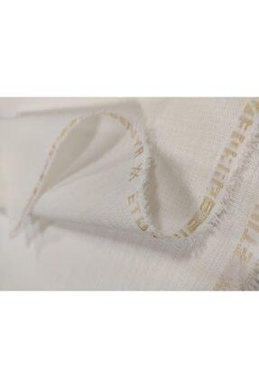 UYAR Etuval Gardenya Dertsiz Punch Panç Nakış Kumaşı 80x100 cm Leke Tutmaz Ekru 0
