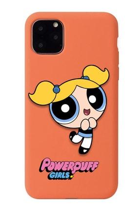 POFHİ Xiaomi Mi A2 Lite Bubbles Powerpuff Girls Turuncu Premium Telefon Kılıfı 0