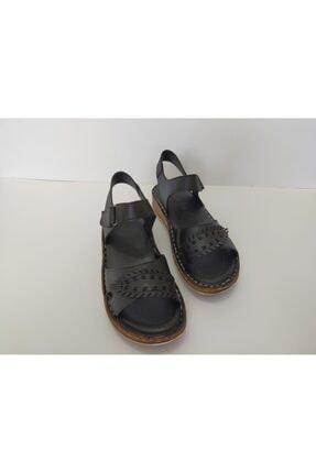 İpekçe Home Kız Çocuk Siyah Bantlı Sandalet 0