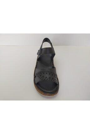 İpekçe Home Kız Çocuk Siyah Bantlı Sandalet 3