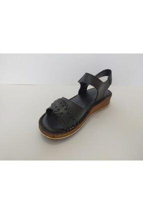 İpekçe Home Kız Çocuk Siyah Bantlı Sandalet 4