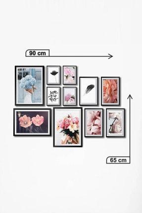 Dekolia By Foresta Concept Dekolia Çerçeve Görünümlü 11'li Mdf Tablo DKS012 2