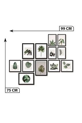 Dekolia By Foresta Concept DEKOLİA 12 PARÇA ÇERÇEVE GÖRÜNÜMLÜ MDF TABLO 3