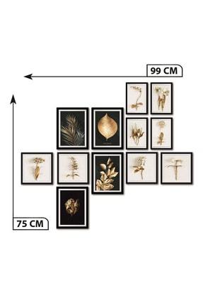 Dekolia By Foresta Concept DEKOLİA 12 PARÇA ÇERÇEVE GÖRÜNÜMLÜ MDF TABLO 2
