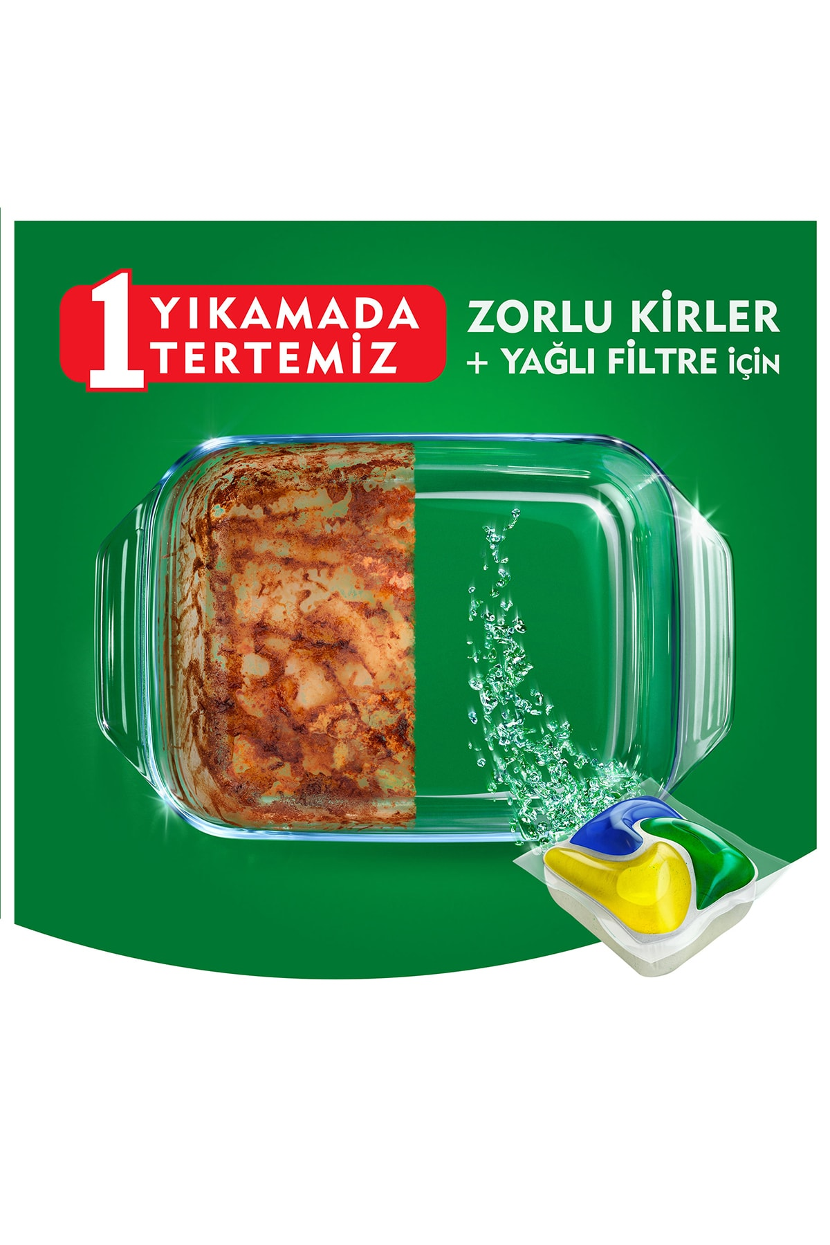 Fairy Platınum 115 Yıkama Bulaşık Makinesi Kapsul Limon Kokulu (beslenme Kutusu Hediye) 2