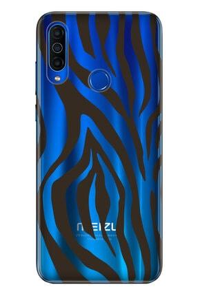 Cekuonline Meizu M10 Kılıf Temalı Resimli Silikon Telefon Kapak - Zebra 0