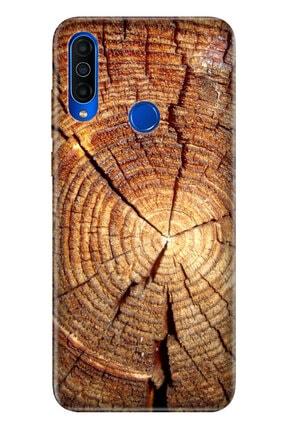 Cekuonline Meizu M10 Kılıf Temalı Resimli Silikon Telefon Kapak - Wood 0