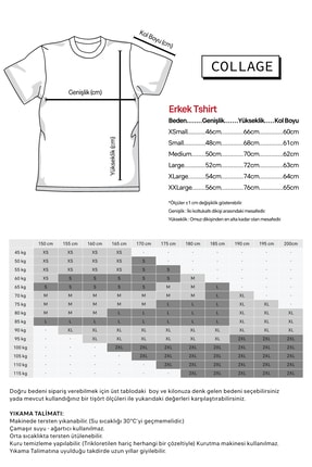 Collage Zombie Peace Baskılı Siyah Erkek Örme Tshirt T-shirt Tişört T Shirt 1