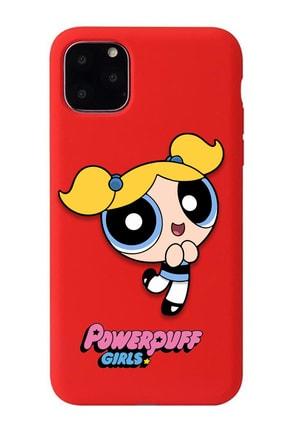 POFHİ Xiaomi Mi 8 Lite Bubbles Powerpuff Girls Kırmızı Premium Telefon Kılıfı 0