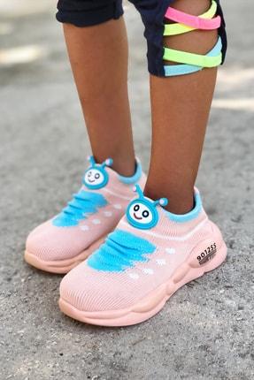 Mk Claws Çocuk Pembe Ortopedik Hafif Yumuşak Ayakkabı Spor 1