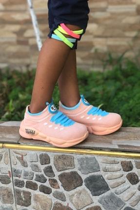 Mk Claws Çocuk Pembe Ortopedik Hafif Yumuşak Ayakkabı Spor 3
