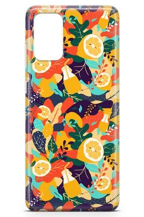 Lopard Samsung Galaxy S20 Plus Kılıf C Vitamini Arka Kapak Koruma Desenli Full Koruyucu 1
