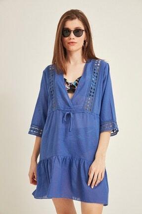 Kadın Pareo Plaj Elbisesi 2011 Sax Mavi TCTY20SSPRO011
