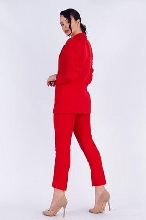 TEORA FASHION Blazer Ceket Pantolon Takım 3