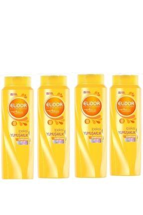 Elidor Ipeksi Yumuşaklık Saç Bakım Şampuanı 500 Ml X 4 Set 0