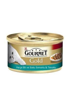 Proplan Gourmet Gold Sığır ve Parça Etli Yaş Kedi Maması 85 Gr 0