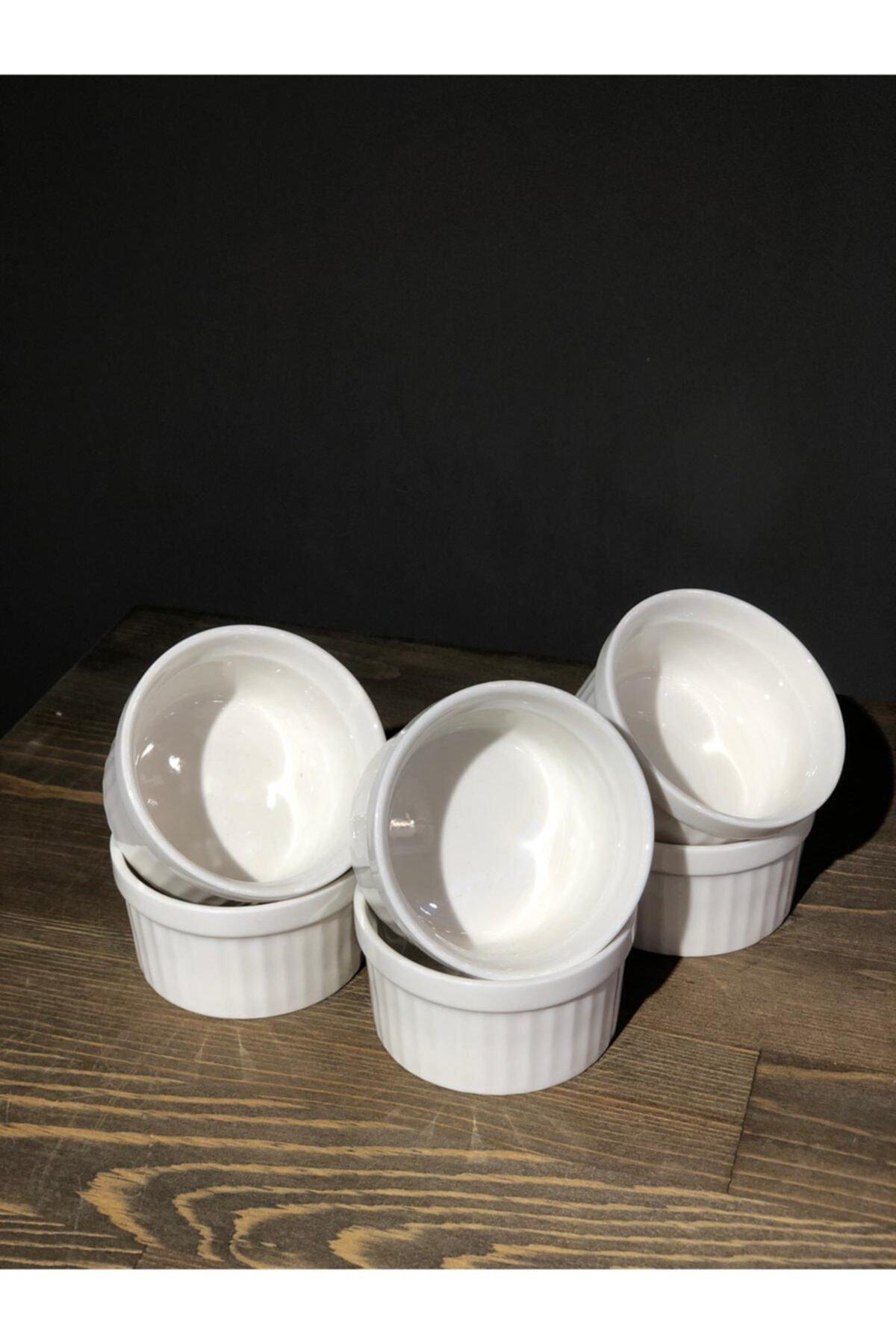 Household Porselen 6'lı Sufle Kasesi