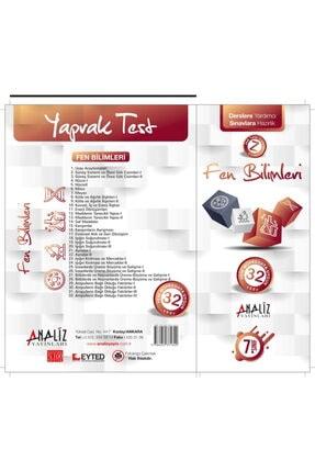 Analiz Yayınları 7.sınıf Fen Bilimleri Yaprak Test 0