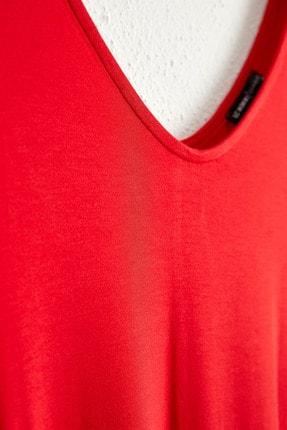 LC Waikiki Kadın Kırmızı Elbise 0WCU28Z8 1