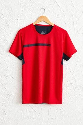 LC Waikiki Erkek Parlak Kırmızı Tişört 0SQ062Z8 0