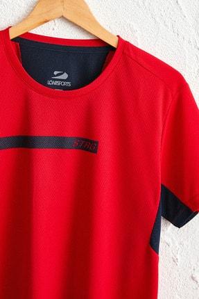 LC Waikiki Erkek Parlak Kırmızı Tişört 0SQ062Z8 2