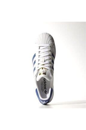 adidas Erkek Spor Ayakkabı - Superstar Foundatıon Ftw Croyal Ftw - B27141 1