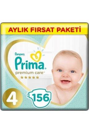 Prima Bebek Bezi Premium Care 4 Numara 9-14 Kg 156 0