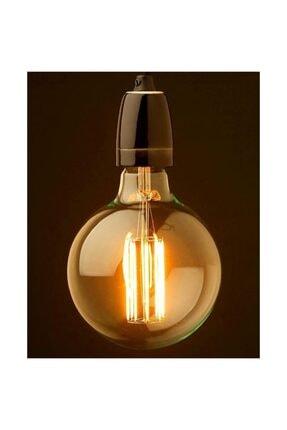Lambax Dekoratif 4 Watt G95 Glop Rustik Edison Led Ampul 0