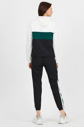 Koza Butik Zara Yeşil Garnili Fermuarlı Eşofman Takımı 3