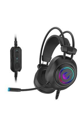 Rampage Rm-k19 Ragıng Plus Siyah Usb 7,1 Version Rgb Ledli Gaming Oyuncu Mikrofonlu Kulaklık 2