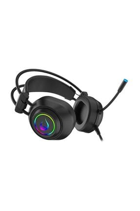 Rampage Rm-k19 Ragıng Plus Siyah Usb 7,1 Version Rgb Ledli Gaming Oyuncu Mikrofonlu Kulaklık 3