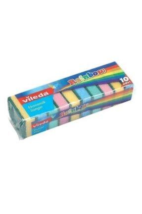 Vileda Rainbow Bulaşık Süngeri 10'lu 0