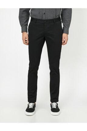 Koton Erkek Siyah Cep Detaylı Pantolon 0YAM42500BW 2