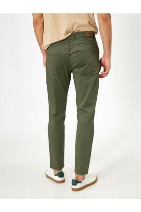 Koton Erkek Yeşil Cep Detayli Pantolon 0YAM42505BW 3