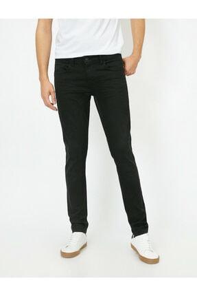 Koton Erkek Siyah Skinny Fit Jean Pantolon 2