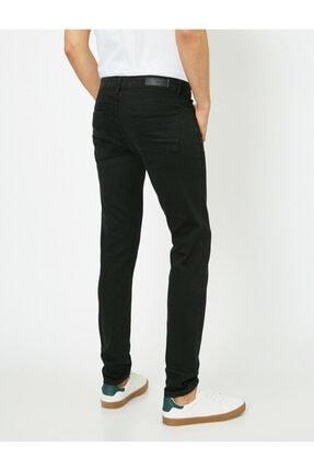 Koton Erkek Siyah Skinny Fit Jean Pantolon 3