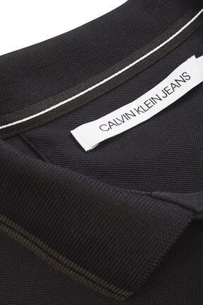 Calvin Klein Erkek Siyah Polo Yaka T-shirt J30j314565 3