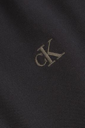 Calvin Klein Erkek Siyah Polo Yaka T-shirt J30j314565 4