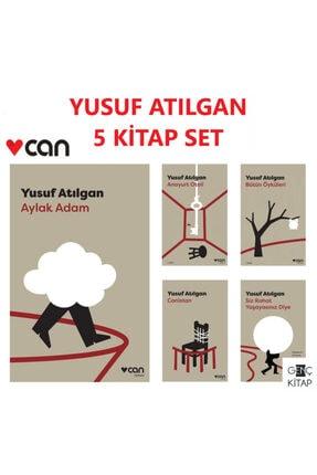 Can Yayınları Yusuf Atılgan 5 Kitap Set Aylak Adam-anayut Oteli-canistan-siz Rahat Yaşayasınız Diye 0