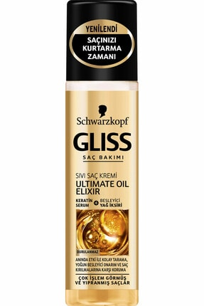 Gliss Ultimate Oil Elixir Sıvı Saç Kremi 200 ml 0