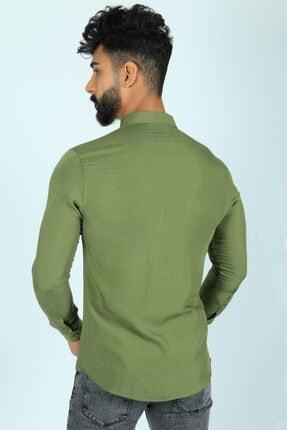 JİYAN Erkek Haki Gömlek 2