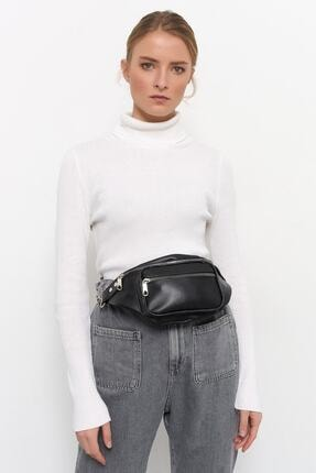 Bagzone Kadın Siyah Bel Çantası 10hd3002 2