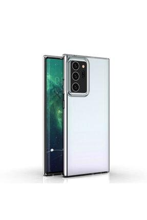 KNY Samsung Galaxy Note 20 Ultra Kııf Ultra Ince Şeffaf Silikon 0