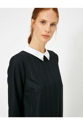 Koton Kadın Siyah Elbise 1