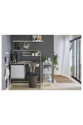 Marka Ikea Sunnersta 12x11 Cm Askılı Saksı Kutu Sepet Kaşıklık Koyu Beyaz 2 Adet 1
