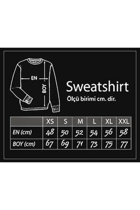 Darkia Siyah Fight Club Dövüş Kulübü Baskılı Uzun Kollu Sweatshirt 1