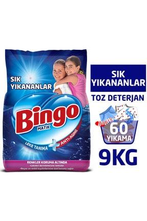Bingo Toz Çamaşır Deterjanı 9 kg + Yumuşatıcı 5 lt Lovely+Bulaşık Sıvısı 4 kg+Yüzey Temizleyicisi 2,5 lt 3