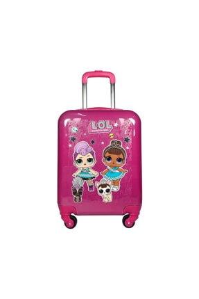 Lol Çocuk Valizi Pembe 0