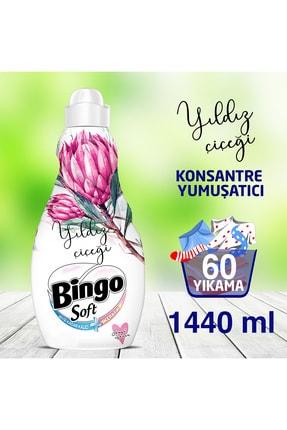 Bingo Soft Yıldız Çiçeği Konsantre Yumuşatıcı 1440 ml 0