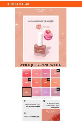 Missha Doğal Görünüm Sunan Nemlendirici Likit Allık 9g. APIEU Juicy-Pang Water Blusher (BE01) 1
